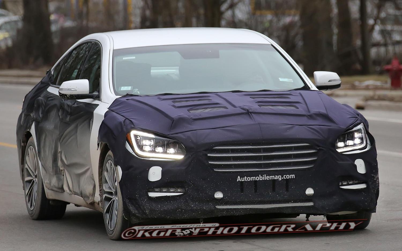 Next Generation Hyundai Genesis Front Side Close Up1