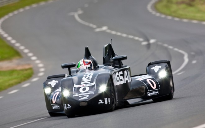 Nissan DeltaWing Racer Front View Motion Le Mans 20121 660x413
