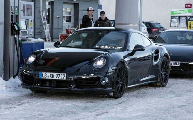 Porsche 911 Turbo Spied Front Three Quarter1 660x413