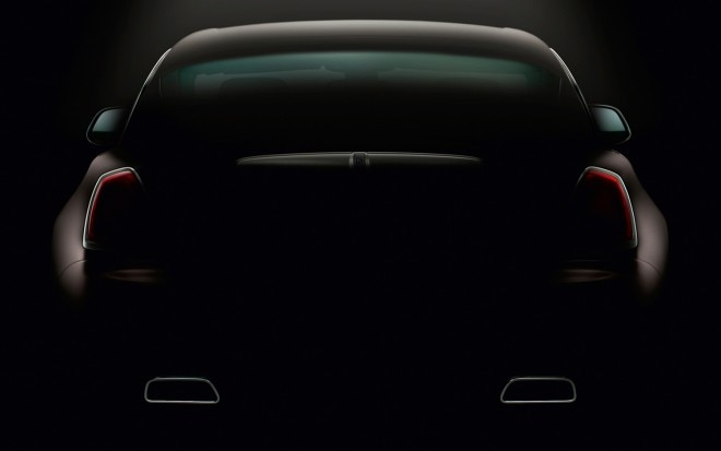 Rolls Royce Wraith Coupe Rear View Teaser1 660x413