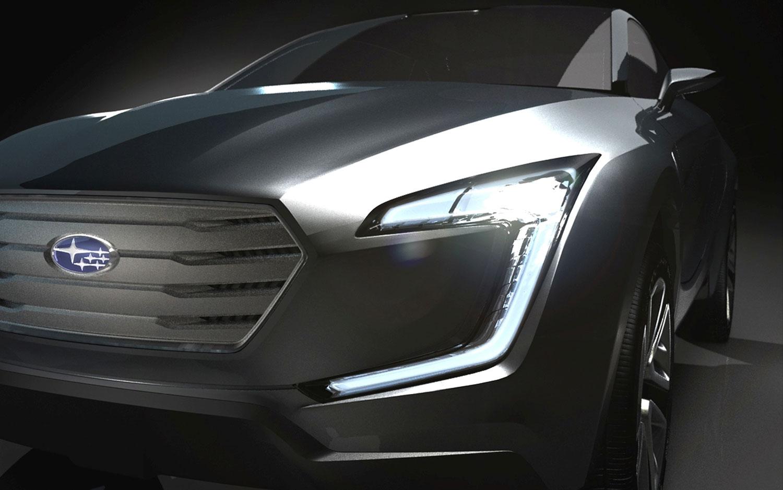 Subaru VIZIV Concept Crossover Front View1