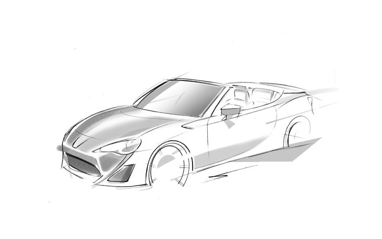 Toyota FT 86 Open Concept Sketch1