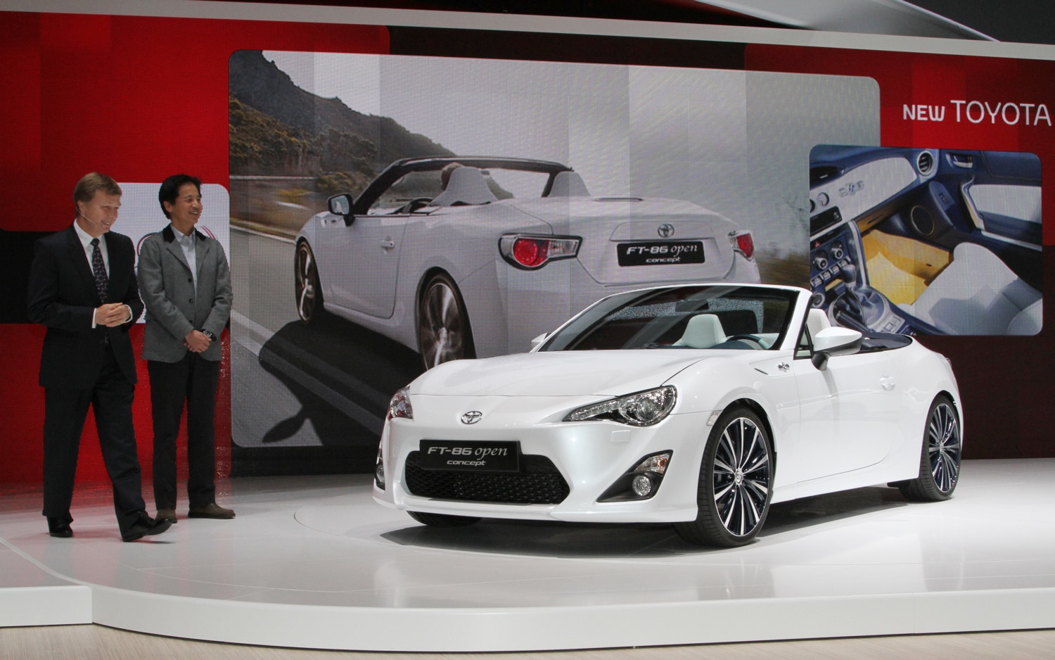 Toyota FT86 Open Concept Front Three Quarters 21