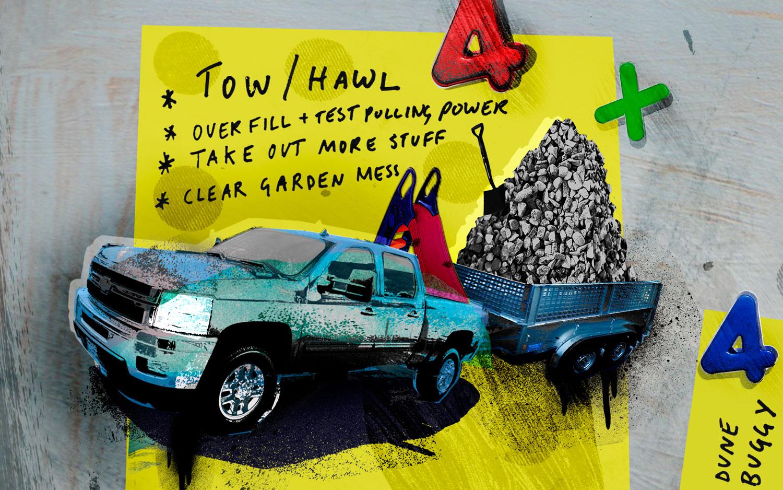 Pickup Truck Illustration Cropped