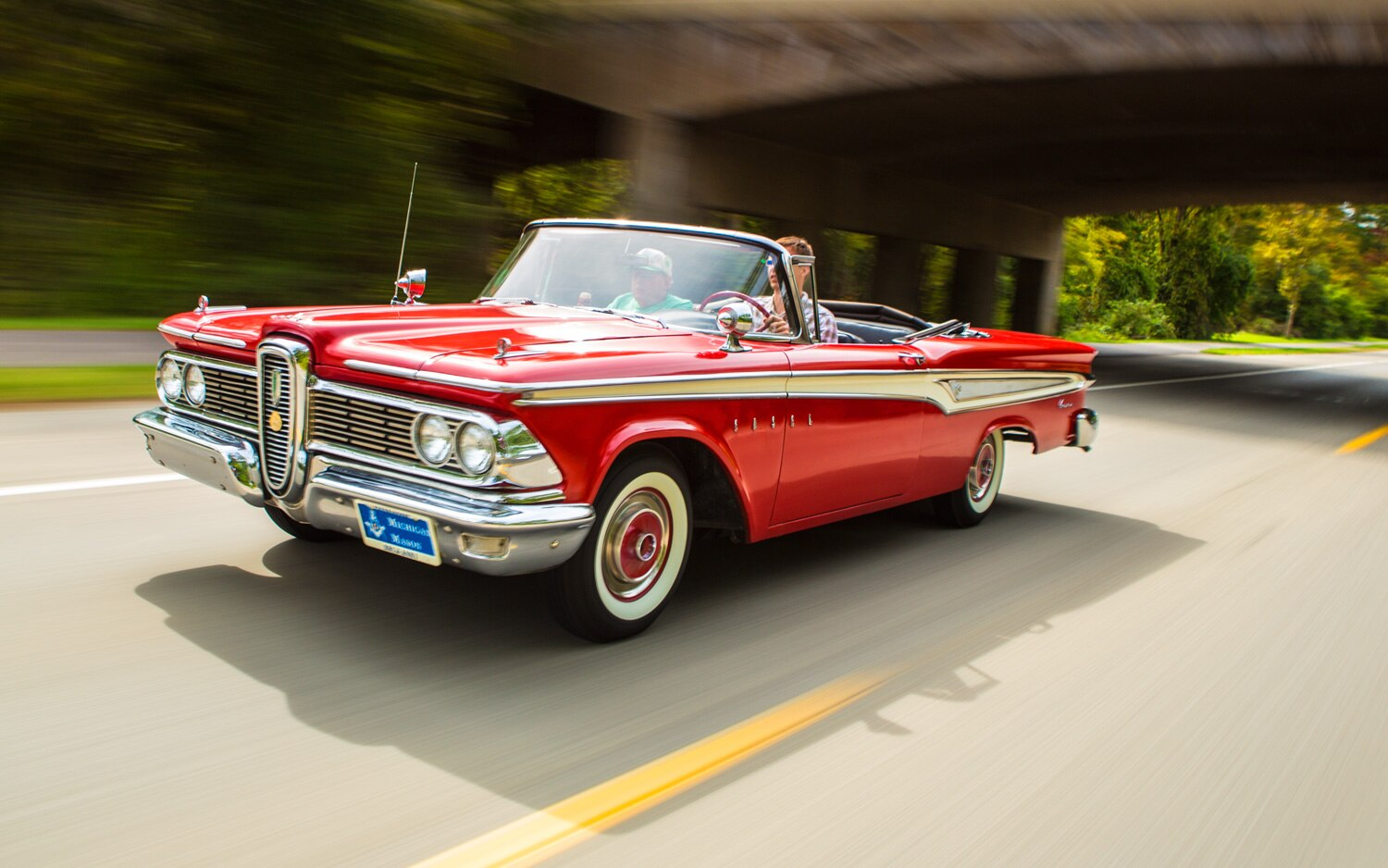 1959 Edsel Corsair Front Left View1