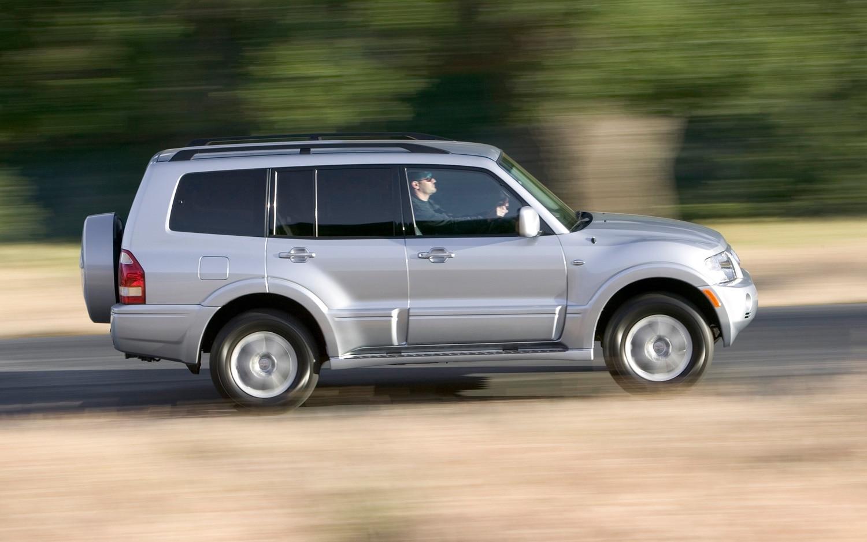 2006 Mitsubishi Montero Right Side Rear 11