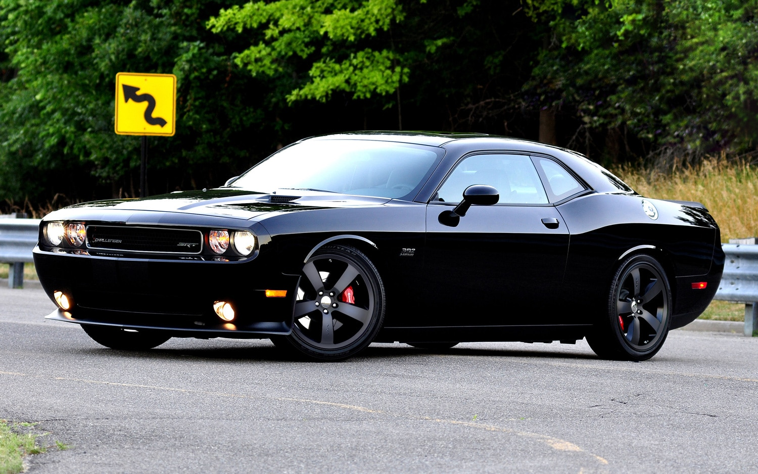 2011 Dodge Challenger SRT8 392 Marchionne Edition Front Three Quarters View1