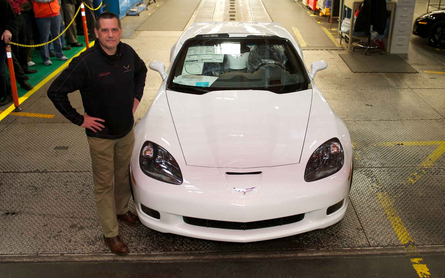 2013 Chevrolet Corvette Last C6 With Plant Manager Front View1