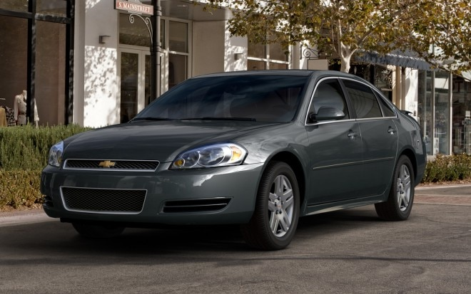 2013 Chevrolet Impala Front Three Quarter1 660x413