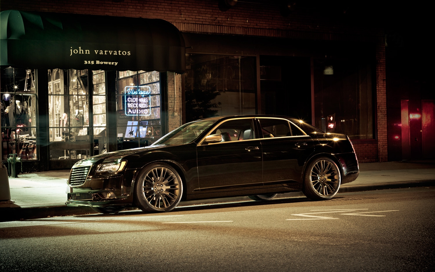 Feature Flick John Varvatos Unboxes His Chrysler 300 In