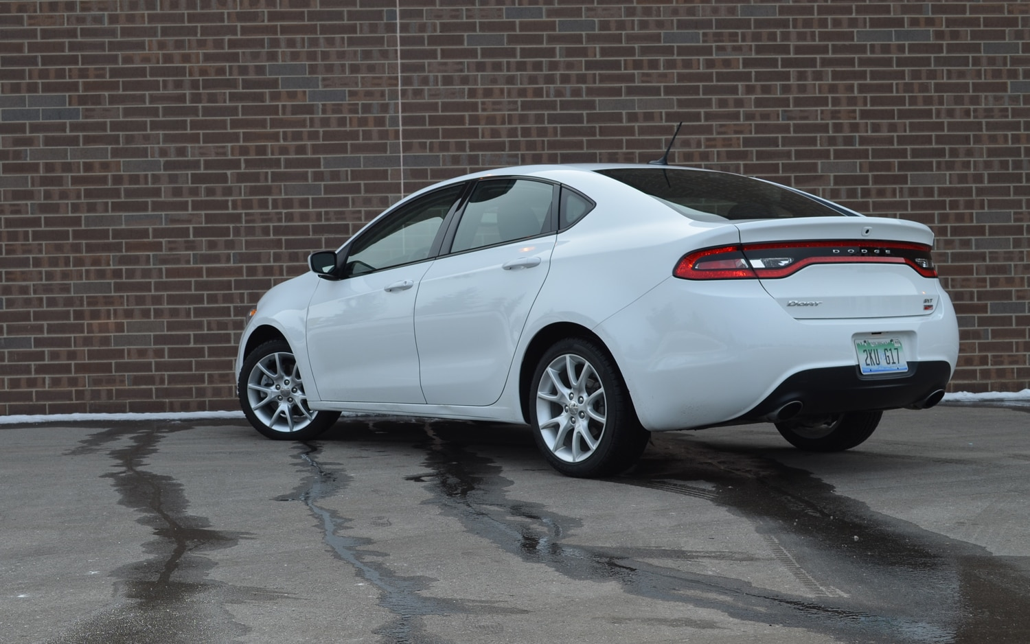 Dodge Dart Sxt Rear Left View Jpg on Ford Charger 2013