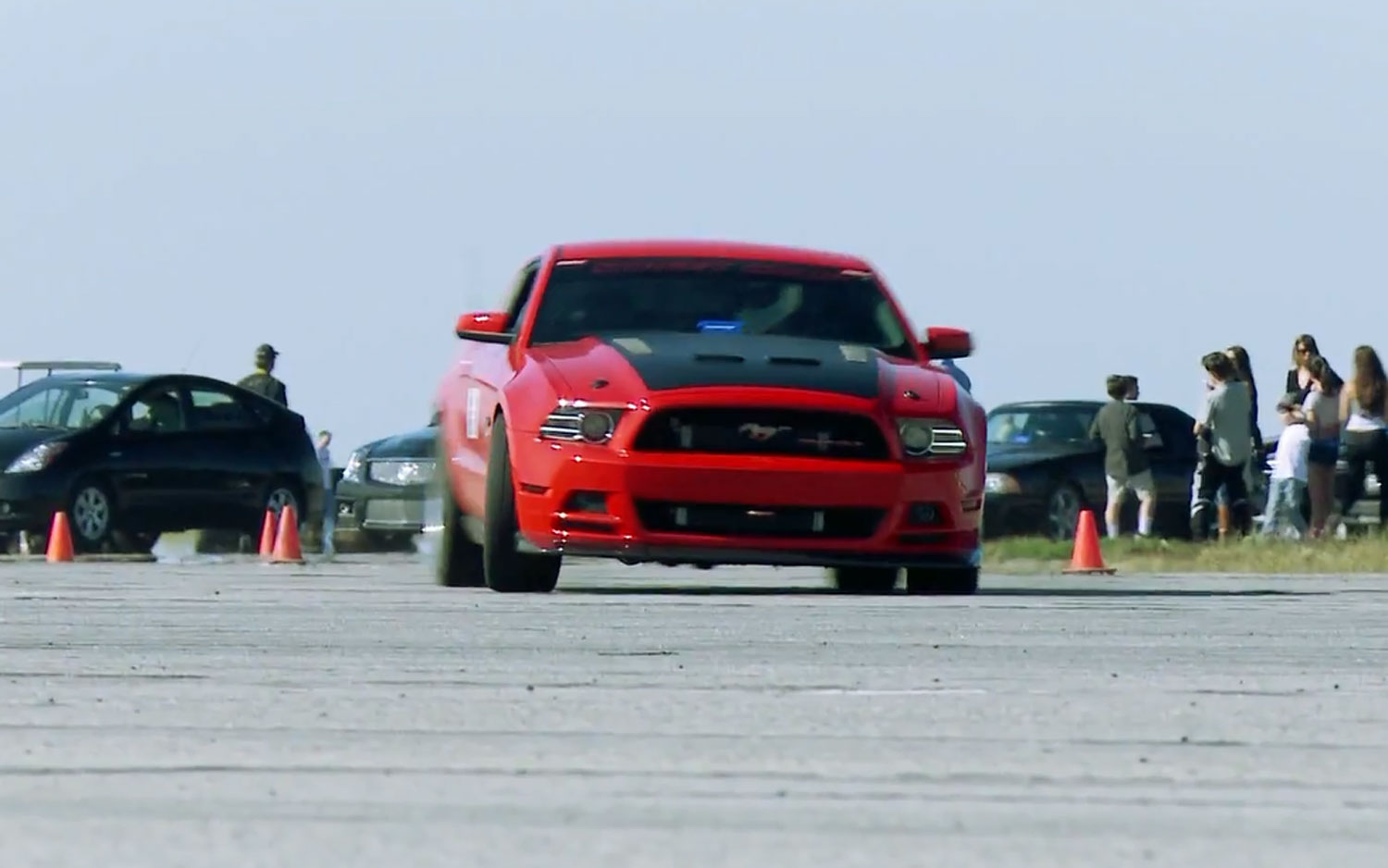 2013 Ford Mustang GT Supercharged Cornering1
