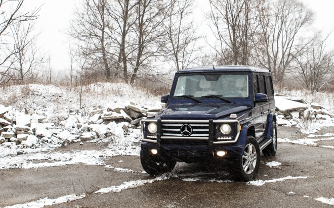 2013 Mercedes Benz G550 Front Left View 51 660x412