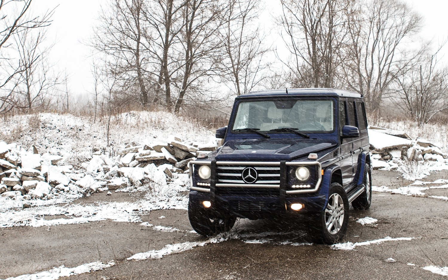 2013 Mercedes Benz G550 Front Left View 51
