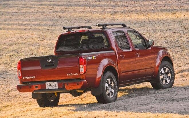 2013 Nissan Frontier Pro4x Rear1 660x413