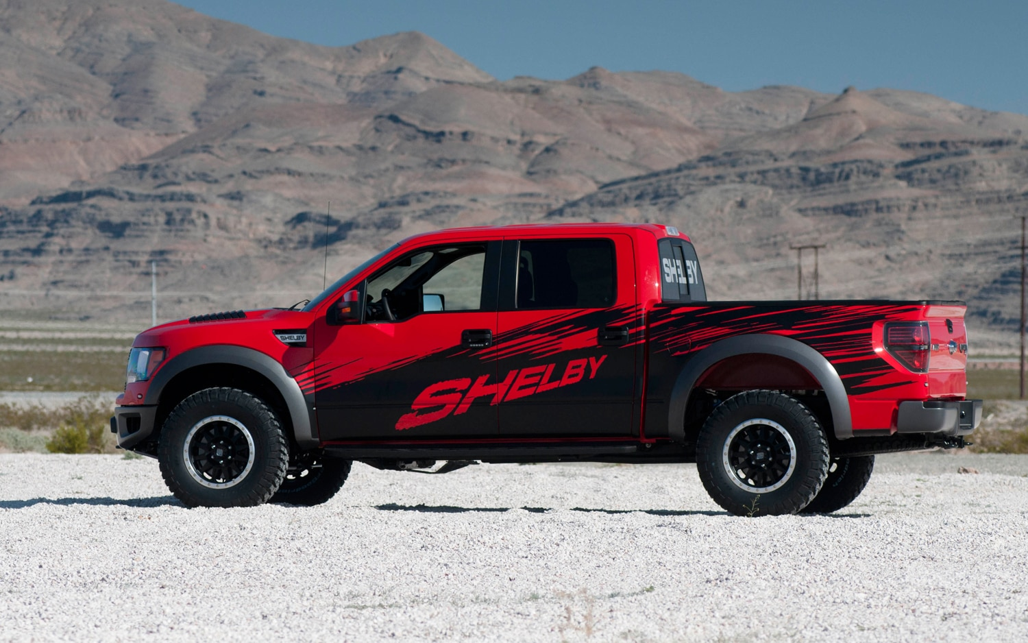 New York 2013 Shelby Raptor Debuts With 575 Hp V 8