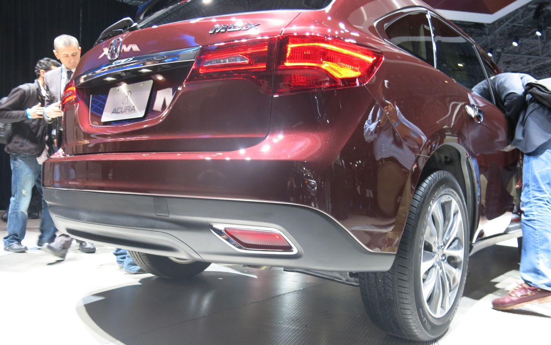 2014 Acura MDX Rear Reflectors1
