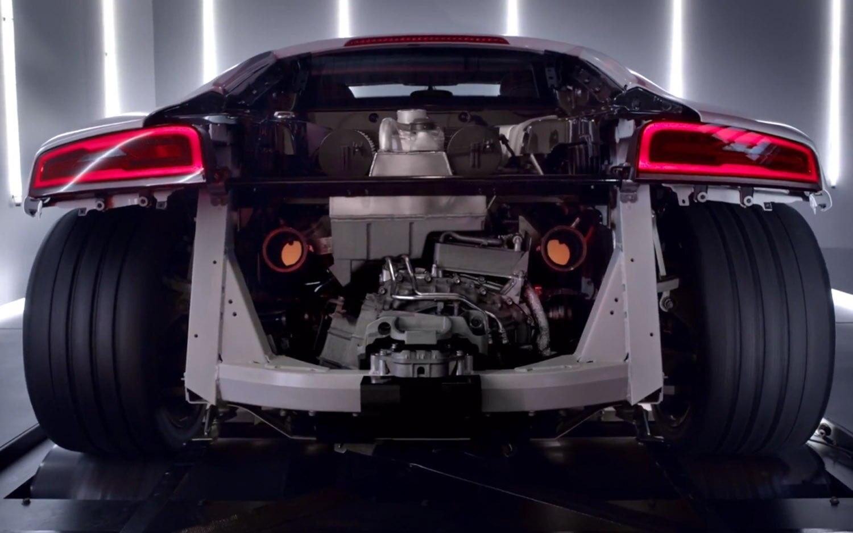 2014 Audi R8 V10 Plus Without Rear Clip1