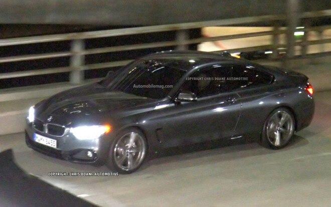 2014 BMW 4 Series Spied Front Three Quarter 11 660x413