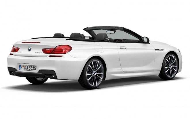 2014 BMW 6 Series Convertible Frozen Brilliant White Edition Rear Three Quarter1 660x413