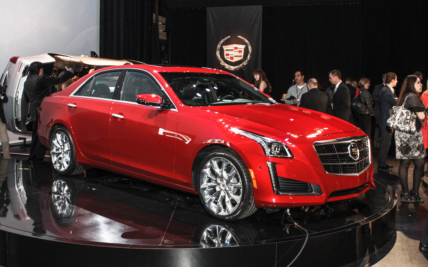 2014 Cadillac CTS NYIAS Preview Patrick M Hoey 61