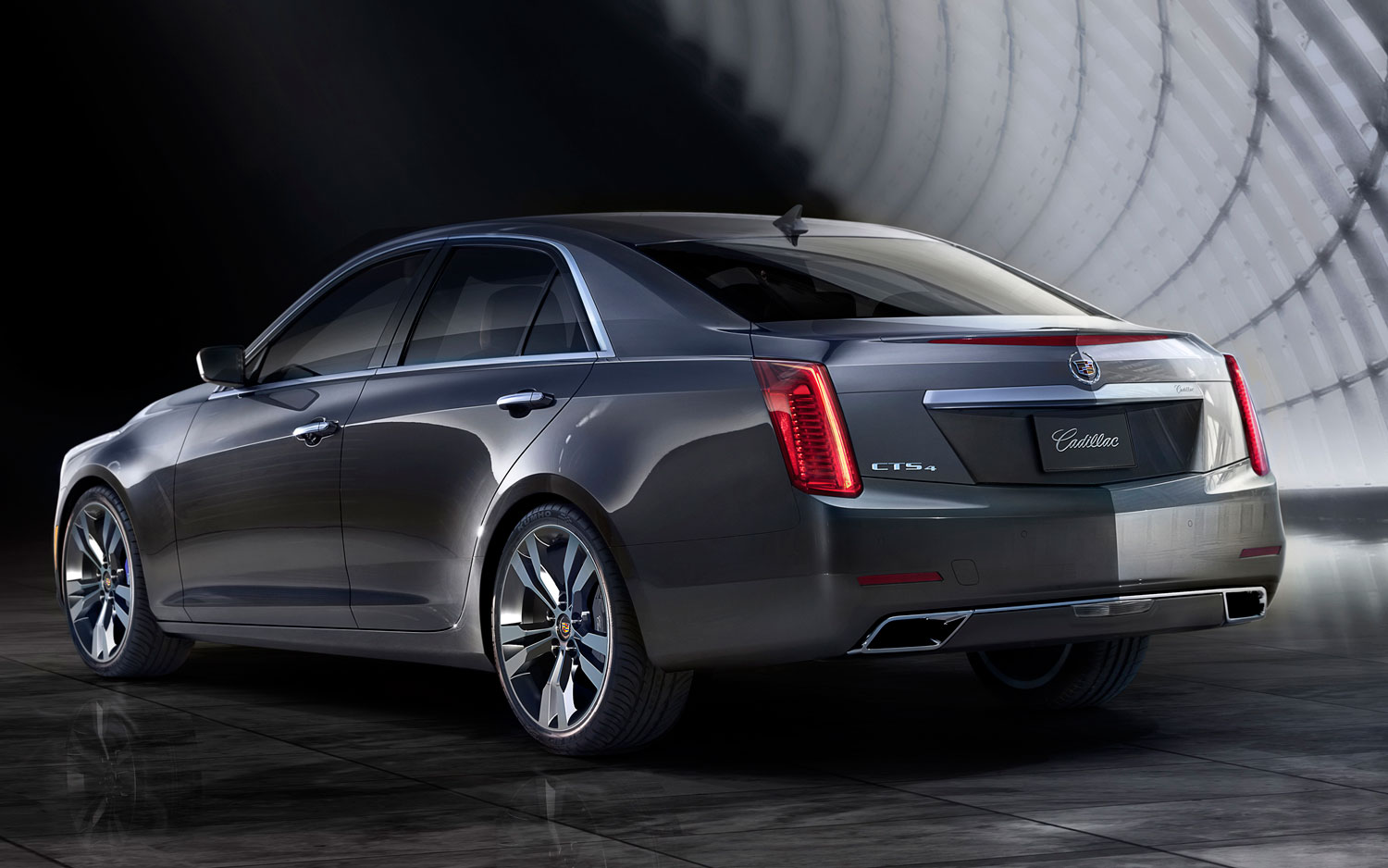 2014 Cadillac CTS Rear Left View1