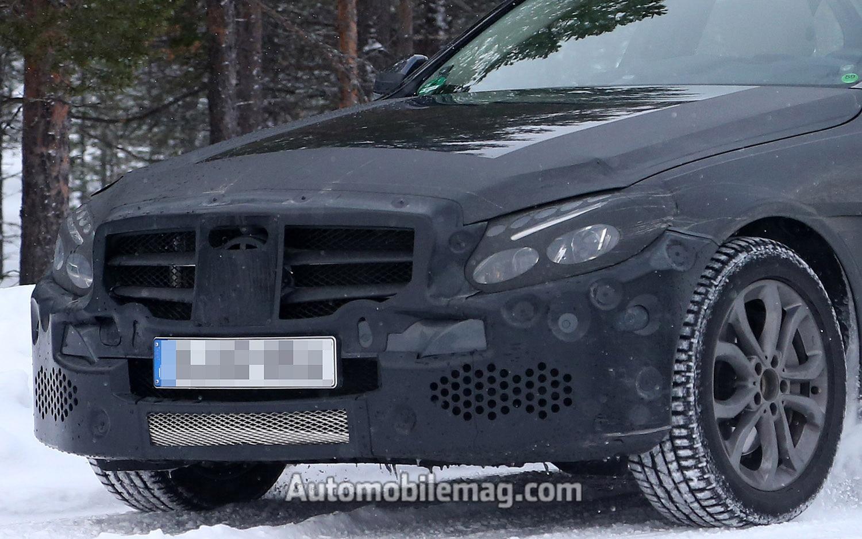 2014 Mercedes Benz C Class Spied Front Clip1
