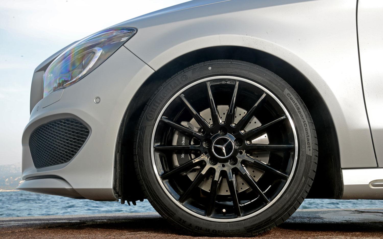First drive 2014 mercedes benz cla250 automobile magazine for Mercedes benz wheels