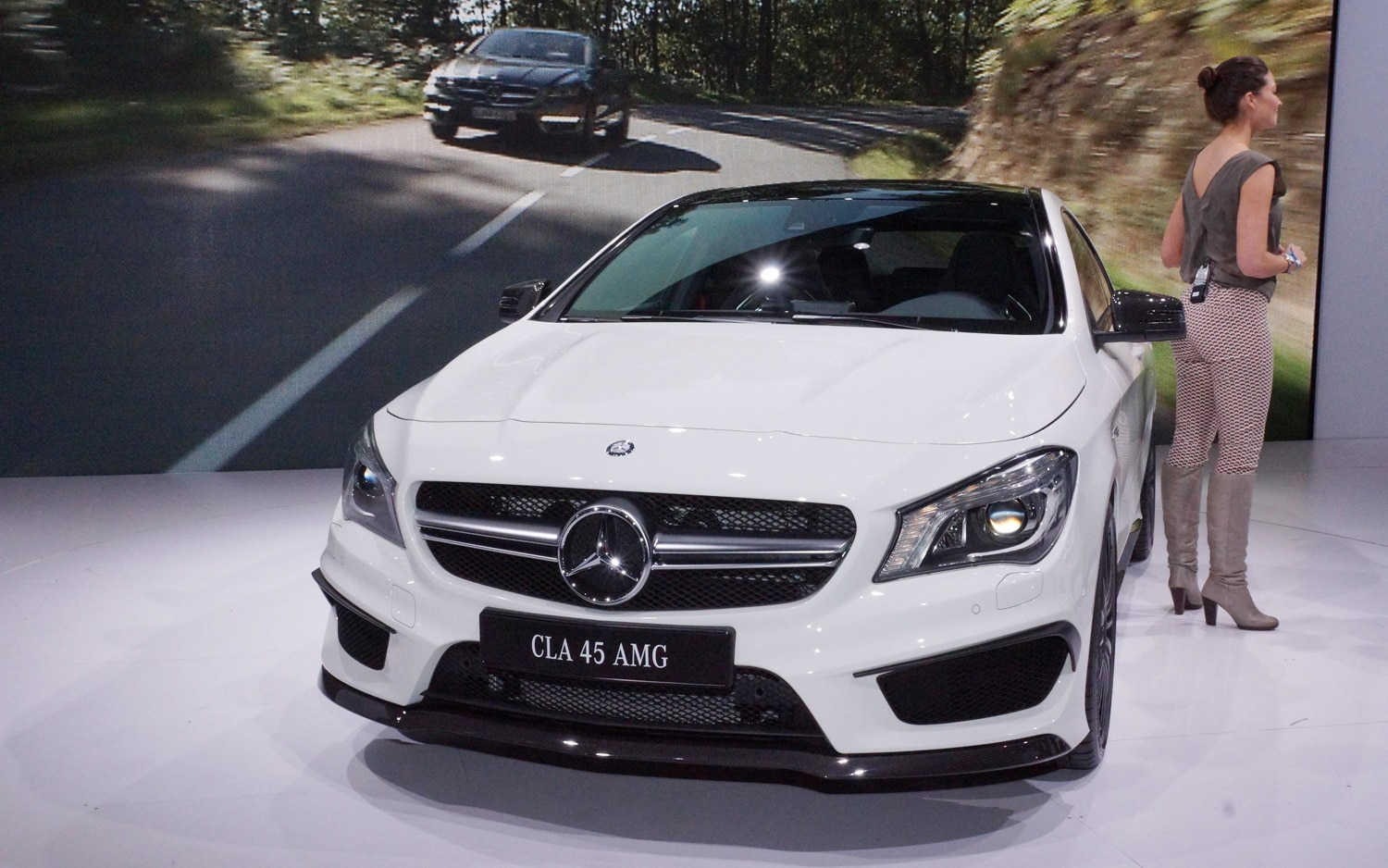 2014 Mercedes Benz Cla45 Amg First Look Automobile Magazine