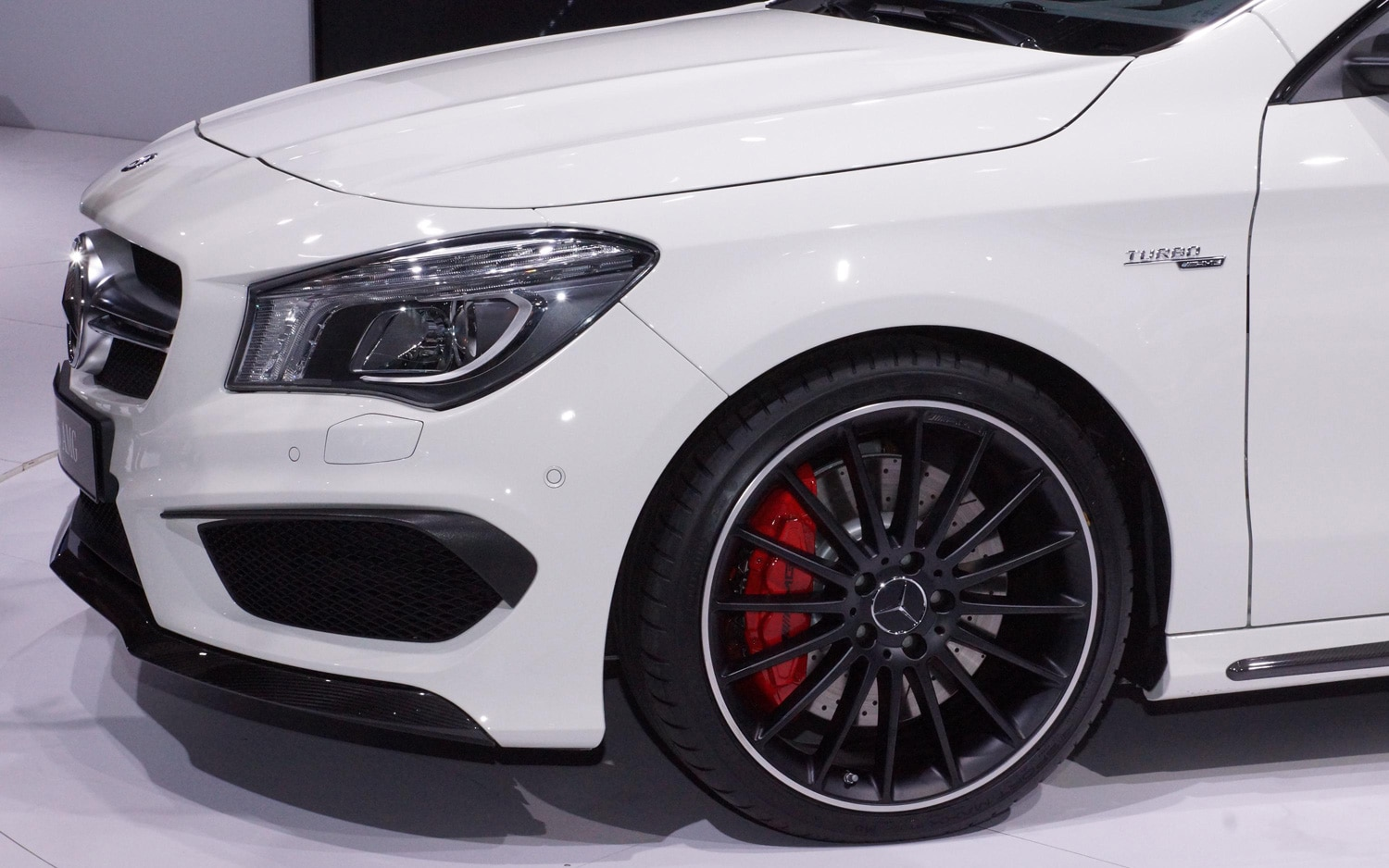 2014 mercedes benz cla45 amg first look automobile magazine for Amg wheels for mercedes benz