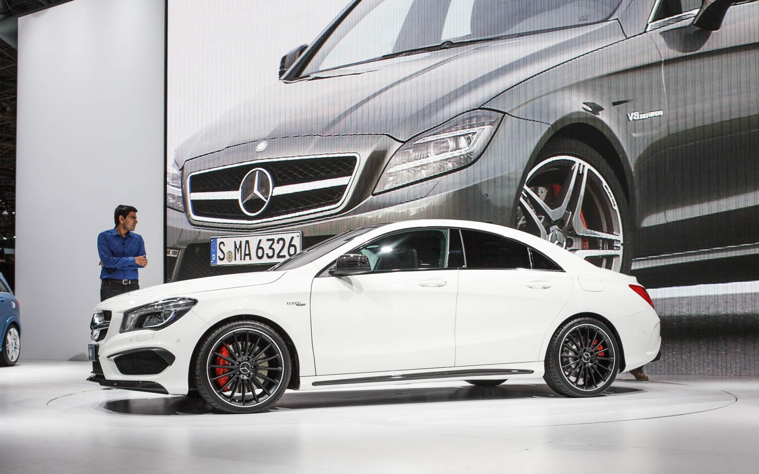2014 Mercedes Benz CLA45 AMG Side