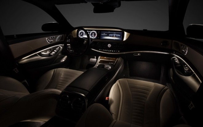 2014 Mercedes Benz S Class Interior Wide11 660x413