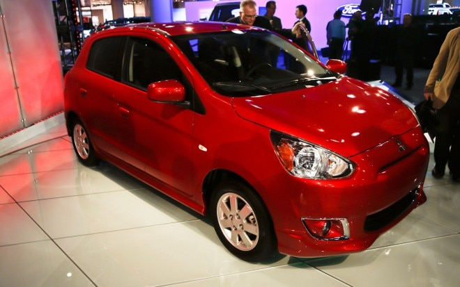 2014 Mitsubishi Mirage Front Right View1 660x413