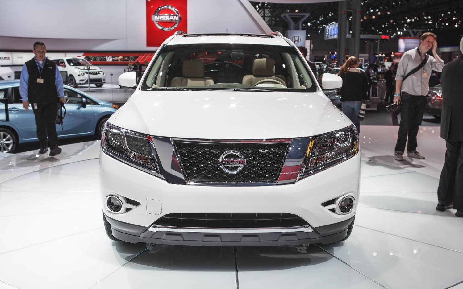 new york 2013 2014 nissan pathfinder hybrid is more