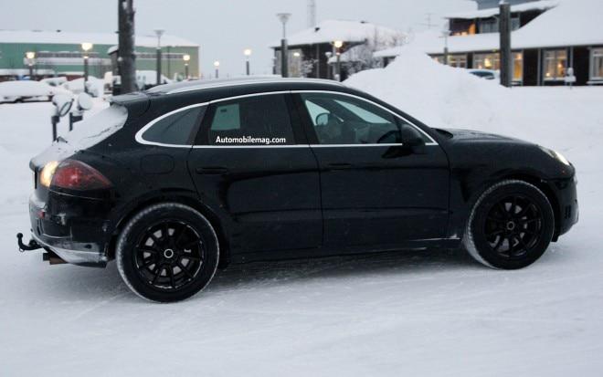 2014 Porsche Macan Test Mule Profile1 660x413