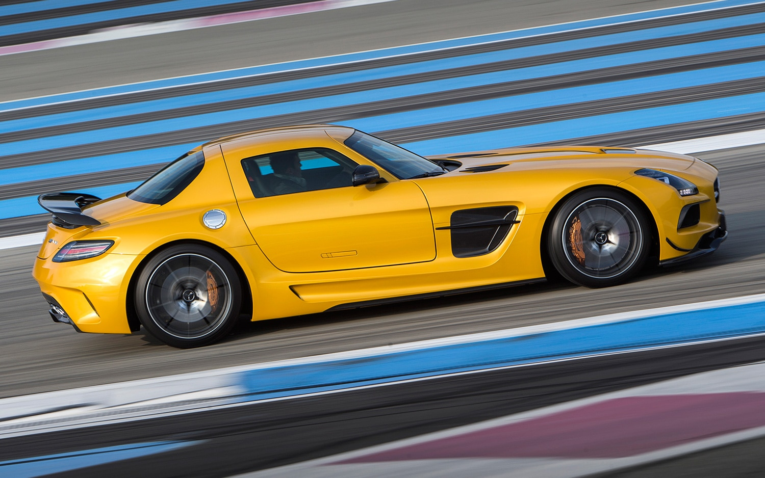 First Drive MercedesBenz SLS AMG Black Series  Automobile Magazine