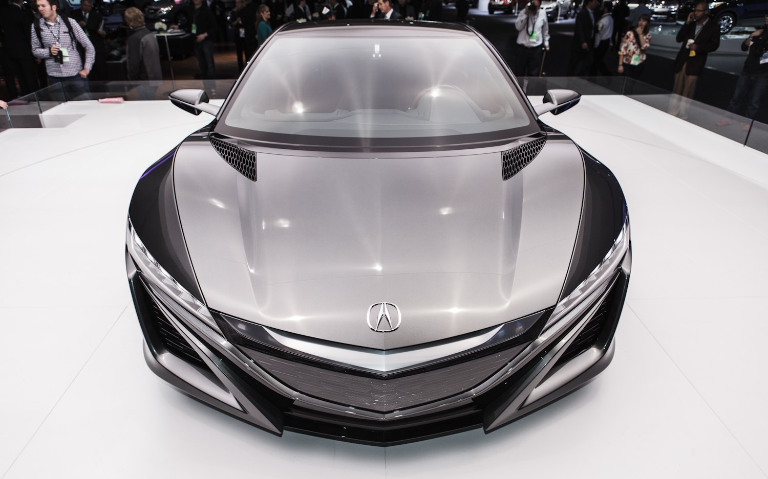 Acura NSX Concept Aerial View1