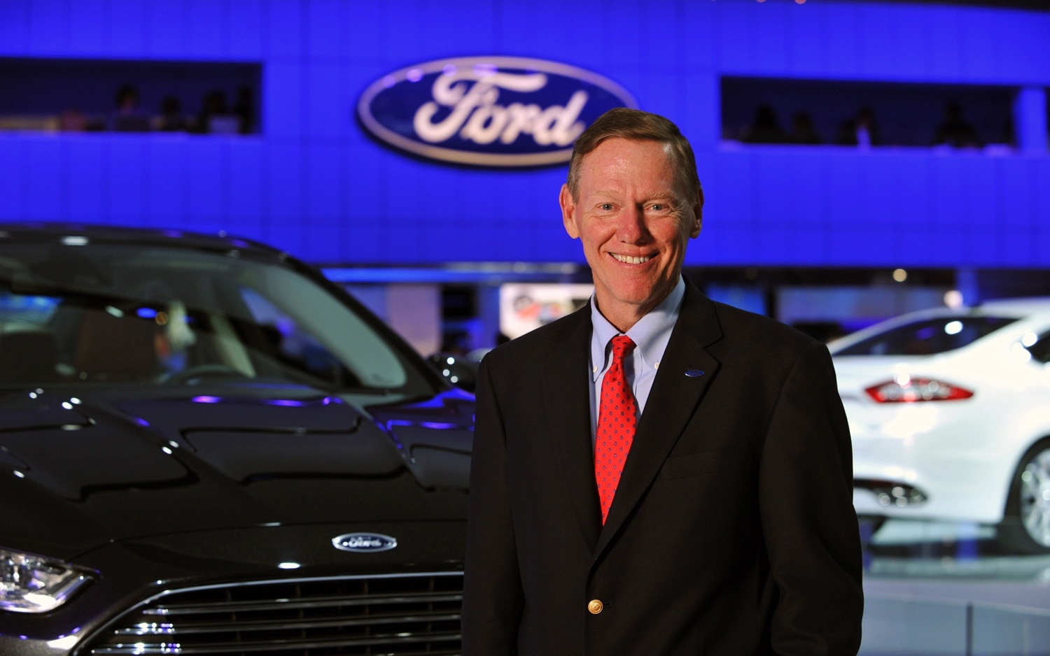Alan Mulally 2013 Ford Fusion1