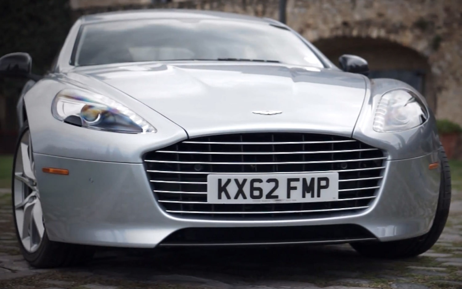 Aston Martin Rapide S Front View1