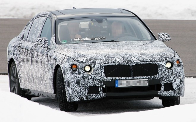 BMW 7 Series Spy Shot Right Front 41 660x413