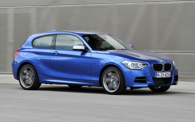 BMW M135i Front Three Quarter1 660x413