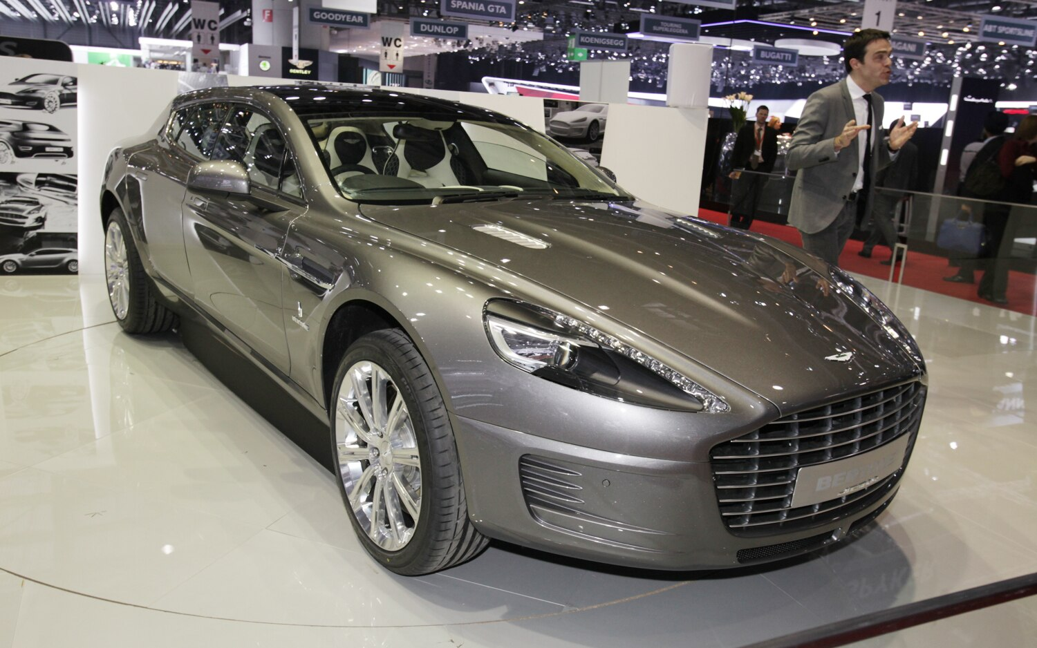 geneva 2013 bertone jet 2 2 is a shapely aston martin wagon. Black Bedroom Furniture Sets. Home Design Ideas