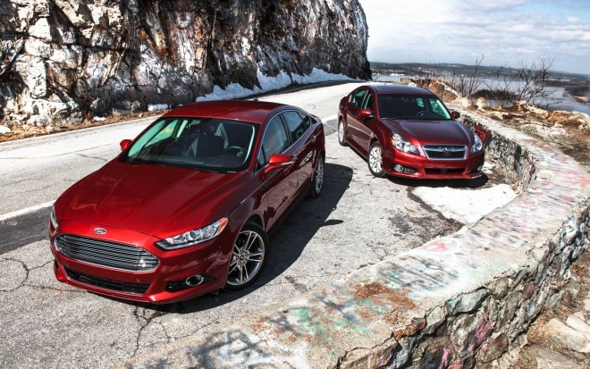 Comparo Subaru Legacy Vs Ford Fusion AWD 11 660x413