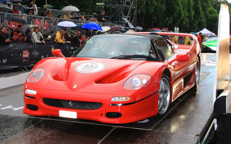 Ferrari F50 Front View1