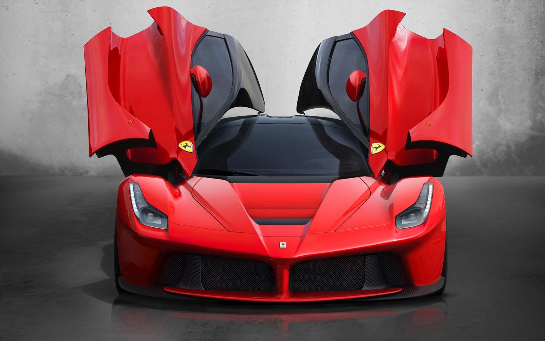 Ferrari LaFerrari Front Doors Open