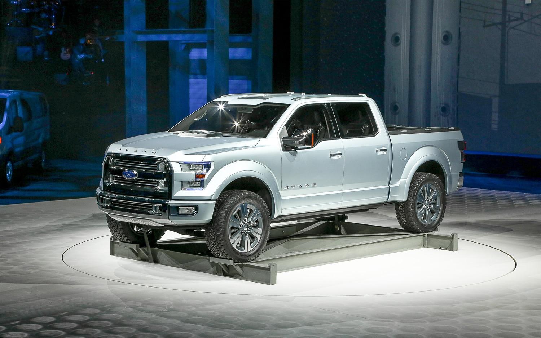 Ford Atlas Concept Front Three Quarter1