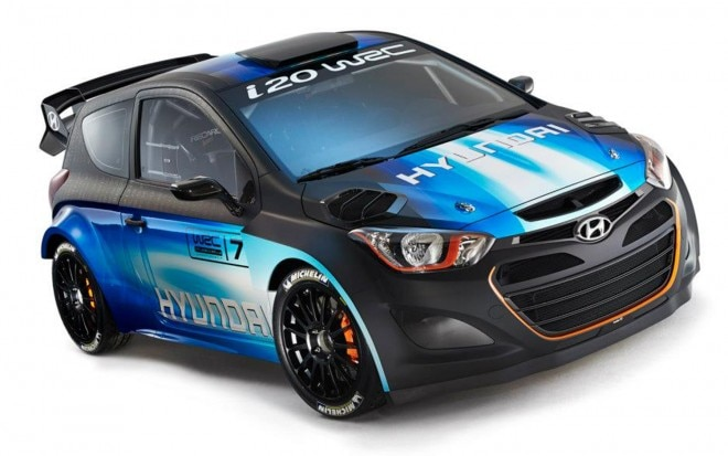 Hyundai I20 WRC Front Three Quarter Over Head1 660x413
