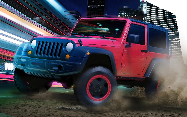 Jeep Wrangler Slim Concept Teaser Sketch1