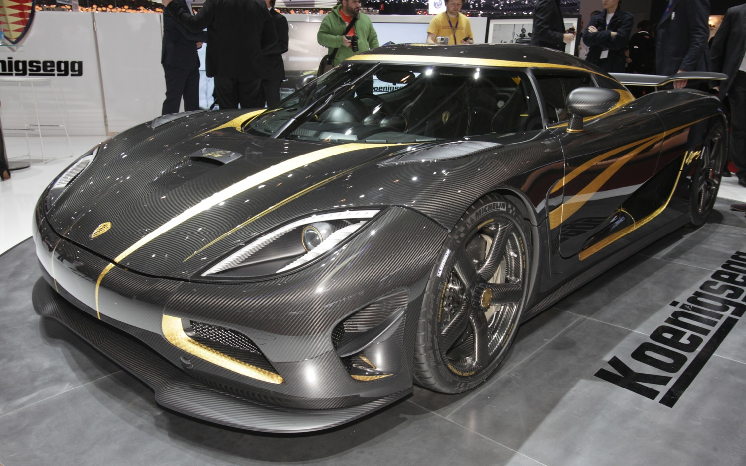 Koenigsegg Agera Special Edition Front Three Quarters1