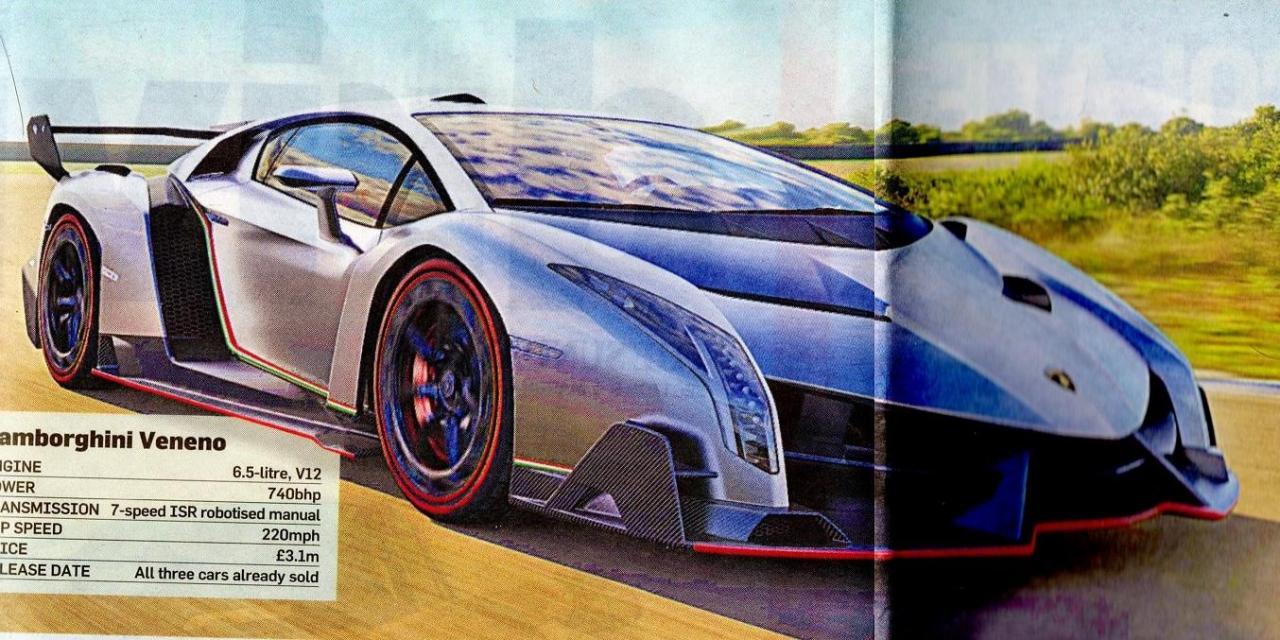 Lamborghini Veneno Concept